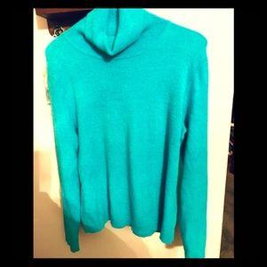 World Republic Clothing Soft Turquoise Sweater